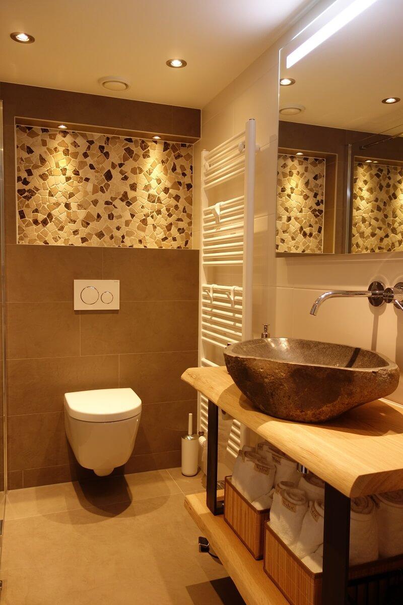 Badkamer vakantiehuisje Schoorl